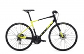 Велосипед Marin Fairfax 2 (Satin Black/Gloss Hi-Vis Yellow/ Silver)