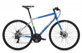Велосипед Marin Fairfax 1 (Gloss Blue/Silver/Hi-Vis Yellow)